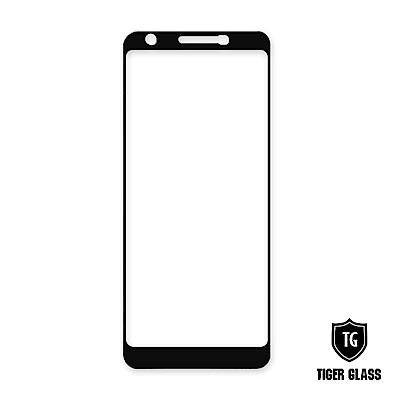 T.G Google Pixel 3a 全包覆滿版鋼化膜手機保護貼(防爆防指紋)
