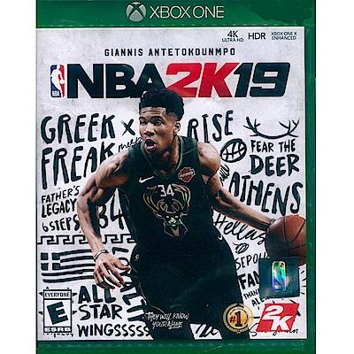 勁爆美國職籃 2K19 NBA 2K19 - XBOX ONE 中英文美版
