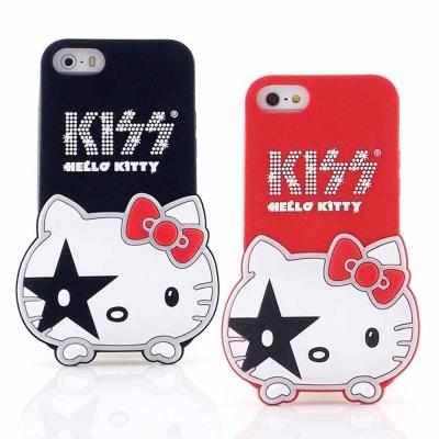 KISS HELLO KITTY iPhone 5/5S / SE/5c 立體造型經典大頭保護套