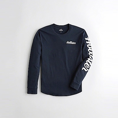 Hollister HCO  長袖 T恤 藍 1079