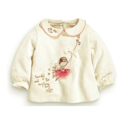 歐美風 女童 純棉長袖T恤-飛翔女孩