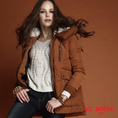造型長版羽絨大衣, 大氣,顯瘦又保暖, 冬季外出必備時尚穿搭