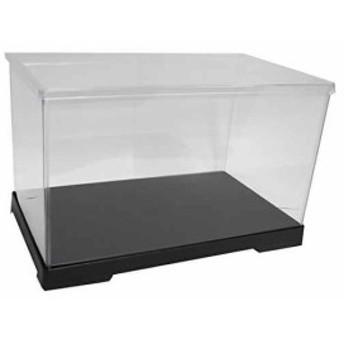 透明フィギュアケース プラスチック 組立式 W400×D210×H210mm ディスプレイケース[402121]