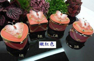 *泰國精品*【~(噴砂玻璃盒 嫩紅色)~ 送禮盒 包裝盒 禮物盒 佛牌收納盒 泰國佛牌 】首飾盒 飾品盒 佛牌盒 珠寶盒