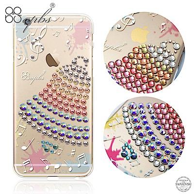 apbs iPhone6s/6 4.7吋 施華洛世奇彩鑽手機殼-叮叮噹