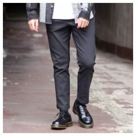 (Men's Bigi/メンズビギ)裏起毛ヘリンボンプリントイージーパンツ[WARM EASY PANTS]/メンズ グレー