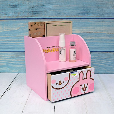 CY本舖 Kanahei 卡娜赫拉-兔兔&P助 桌上單抽筆筒 文具收納 飾品收納