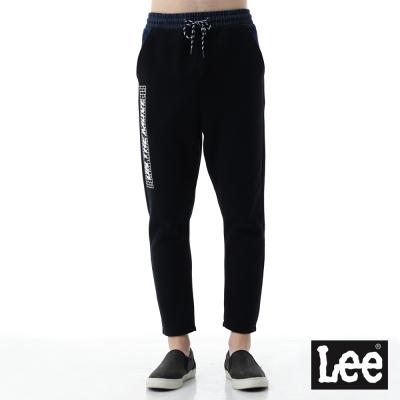 Lee  針織休閒運動褲- 男款-黑色
