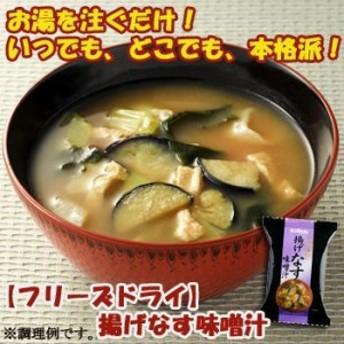 キリン協和フーズ フリーズドライ 揚げなす 味噌汁 100食セット