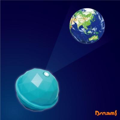 日本 Dreams Projector Dome 銀河系投影球-水藍/地球