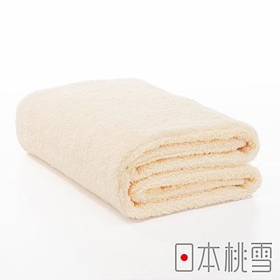 日本桃雪今治超長棉浴巾(米色)