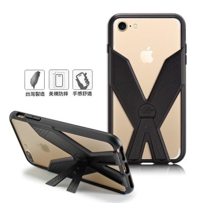 Thunder X 雷霆X iPhone7/6s/6 4.7吋 耐衝擊全包覆防摔殼-極致黑