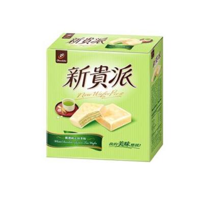 77 新貴派巧克力(綠茶)(18入)