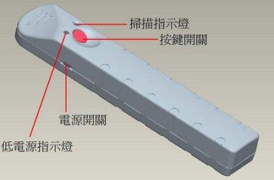 防針孔防偷拍 - 新型專利第M348286號 - 全自動掃描反針孔偵測器反偷拍偵測器