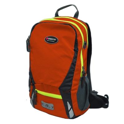 迪伯特DIBOTE 極限登山背包 可擴充騎行包 單車包 - 20L (橘)
