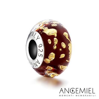 Angemiel安婕米 925純銀 琉璃串珠 奢華米蘭 Murano 義大利手工 珠飾