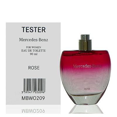 Mercedes Benz Rose 賓士玫瑰情懷淡香水 90ml Tester