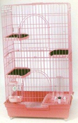 【愛狗生活館】超級豪華貓籠-附二跳板+貓砂盆+飲水器+飼料盒(全配)