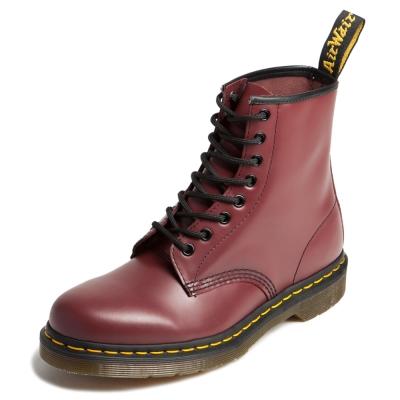 Dr.Martens-經典8孔馬汀馬丁靴-櫻桃紅R11822600