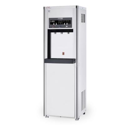 水蘋果 WA-3187 數位式冰溫熱三溫飲水機(內置10英吋五道RO純水機)