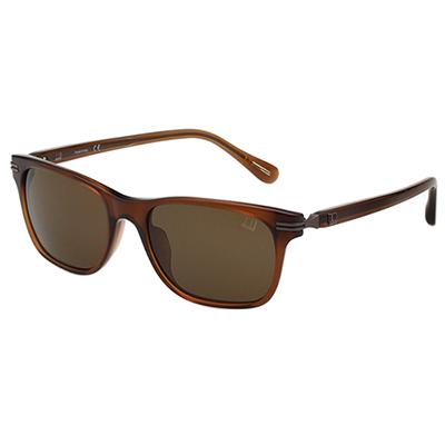 Dunhill 太陽眼鏡 簡約款 (透明咖啡色)DH003