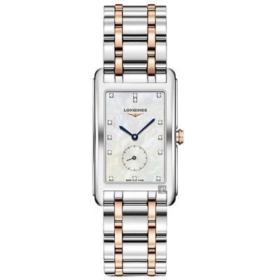 LONGINES 浪琴 DolceVita 多情系列小秒針真鑽女錶 25.8x42mm L57555877