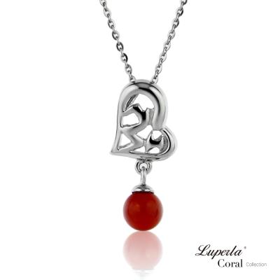 【大東山珠寶】全紅珊瑚項鍊墬飾 心想事成