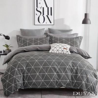DUYAN 竹漾 雙人床包三件組 百慕達三角