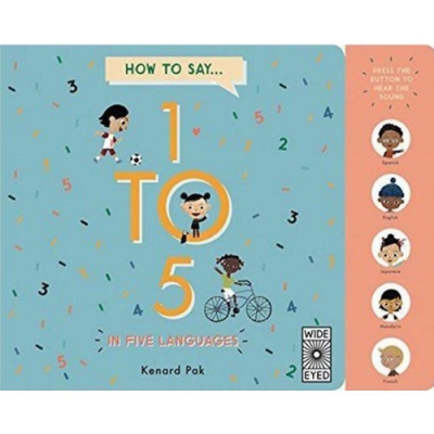 How To Count...1 To 5 從1數到5硬頁有聲書