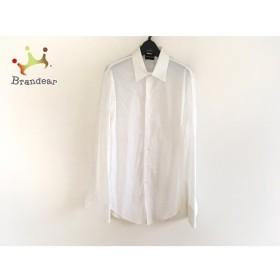 ジョルジオアルマーニ GIORGIOARMANI 長袖シャツ サイズ1 S メンズ 白   スペシャル特価 20190901