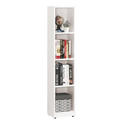 Boden 貝爾1尺四格開放式收納置物櫃 28x24x139cm