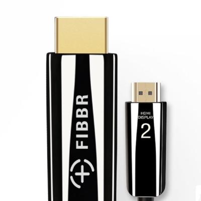 FIBBR Pure系列4K 2.0版 10米 HDMI鋼琴漆合金材質