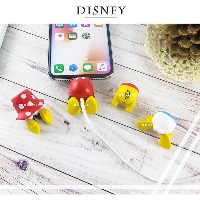 Disney迪士尼立體線材保護套_屁屁系列唐老鴨