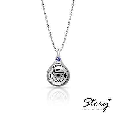 STORY故事銀飾 脈輪系列 眉心輪 3rdEye Chakra 純銀項鍊