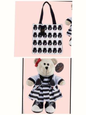星巴克AO提袋+時尚熊寶