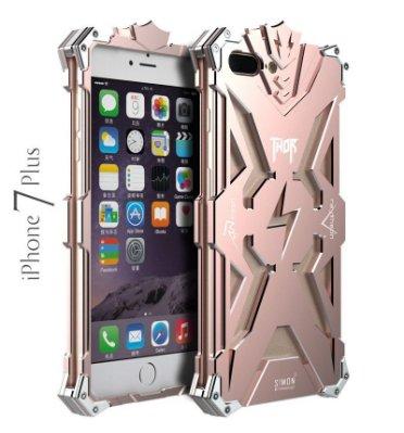 ⚡️雷神機甲X802⚡️四色X i Phone 6s-7-8 Plus雷電戰神⚡️防摔鋁合金屬邊框背蓋手機殼保護殼