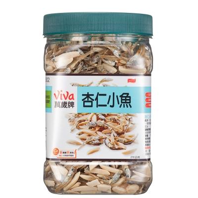 萬歲牌 杏仁小魚方型罐(270g)