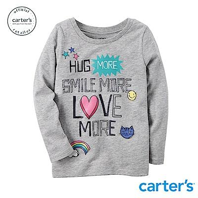 【Carter s】 俏皮圖文上衣(2T-4T) (台灣總代理)