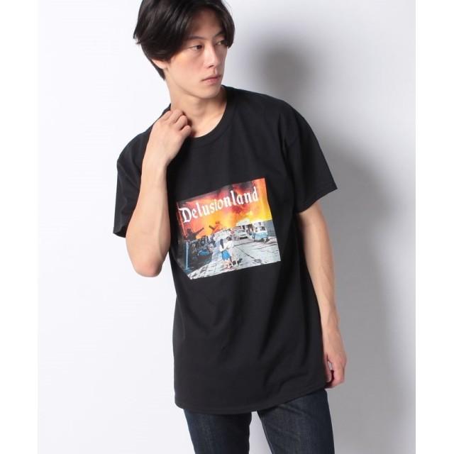 ワンデイケイエムシー DELUSION LAND / GIRL TEE メンズ ブラック F 【ONEDAY KMC】