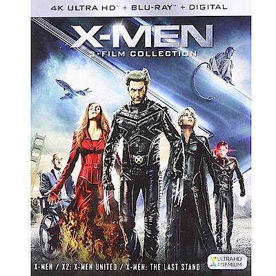 X戰警三部曲 4K UHD + BD 六碟版