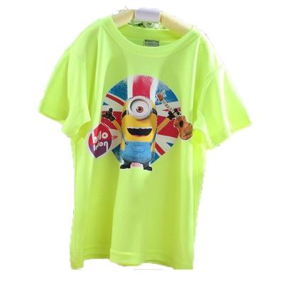 魔法Baby台灣製小小兵授權正版吸濕排汗兒童短袖T恤 k42412
