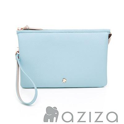 aziza BERYL斜背手拎包(大)-水藍