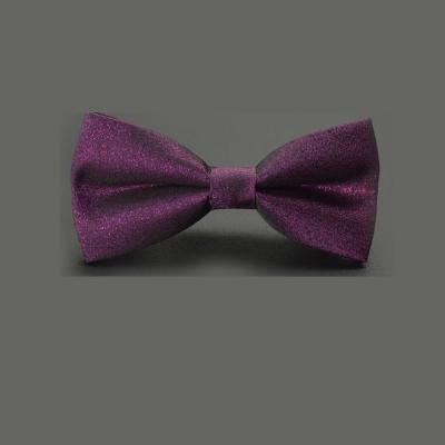 拉福   領結星光新郎結婚領結糾糾 (紫)