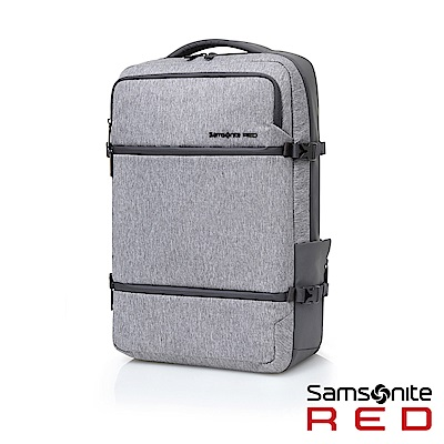 Samsonite RED CARITANI 機能收納筆電後背包15.6(灰黑)