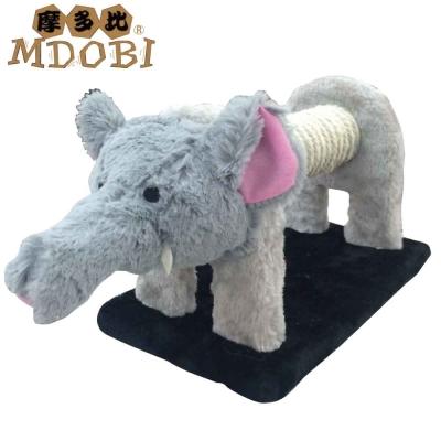 MDOBI摩多比-貓丸家 麻繩貓抓柱 長鼻象麻抓柱