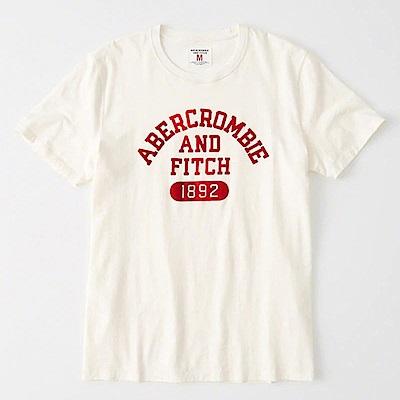 F a&f Abercrombie & Fitch 短袖 T恤 白色 1165