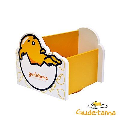 CY本舖 Gudetama 三麗鷗療癒蛋黃哥360度桌上旋轉收納盒 飾品盒 置物盒