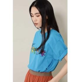 【ROSEBUD:トップス】プリントTシャツ