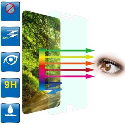 D&A 蘋果 iPhone 7 Plus/ 8 Plus日本原膜9H藍光超潑水增豔螢幕貼