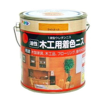 日本製油性木製品著色清漆0.7L(8色選)